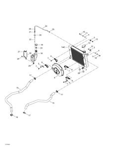 Zeichnung von Kühlsystem