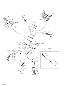 Zeichnung von Lenksystem