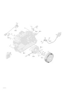Zeichnung von Lichtmaschine