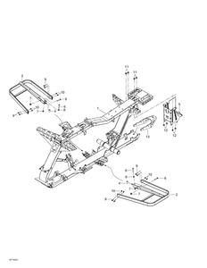 Zeichnung von Rahmen