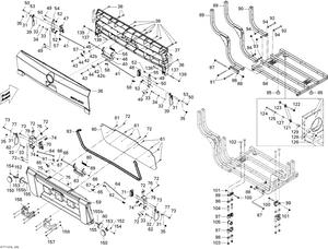 Zeichnung von Koffer (hinten) 2