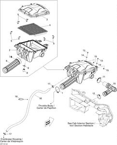Zeichnung von Luftansaugung