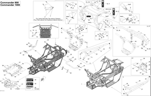 Zeichnung von Rahmen, XT