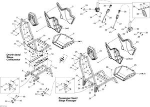 Zeichnung von Sitz