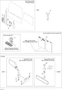 Zeichnung von Spiegel und Werkzeug