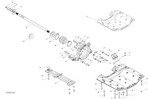 Zeichnung von Antrieb