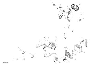 Zeichnung von Elektrosystem - GTX LTD 300