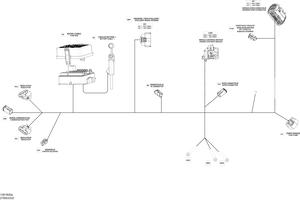 Zeichnung von Kabelbaum - (Haupt)
