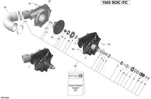 Zeichnung von Kompressor - 215