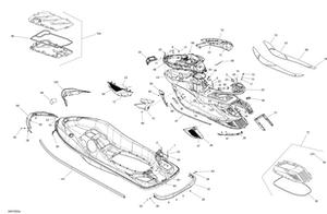 Zeichnung von Rahmen - mit Federung