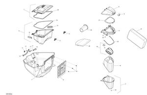 Zeichnung von Stauraum - GTX LTD